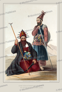 chief executioner and assistant, of his majesty the late shah, afghanistan, james rattray, 1848