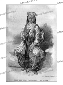 son of the governor of dera, afghanistan, alexander burn, 1843