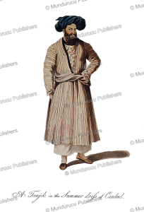 a tajik (iranian descent) of kabul, afghanistan, mountstuart elphinstone, 1815