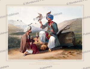 hawkers of kohistan, afghanistan, james rattray, 1848