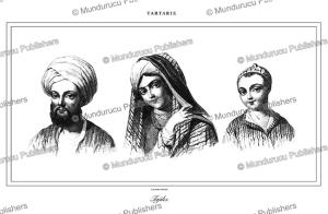 tajiks of afghanistan, lemaitre, 1848
