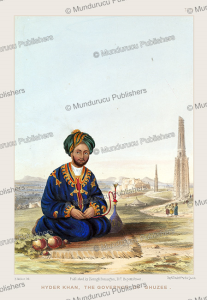 hyder khan, the governor of ghuzee, afghanistan, james rattray, 1848