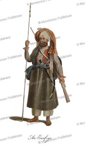 an eusofzyes (yusufzai) warrior, afghanistan, mountstuart elphinstone, 1815