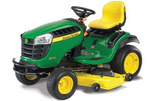 download john deere d100 series lawn mower operator's manual
