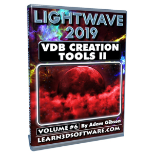 lightwave 2019-vol.#6-vdb creation tools ii- basics ii (download version)