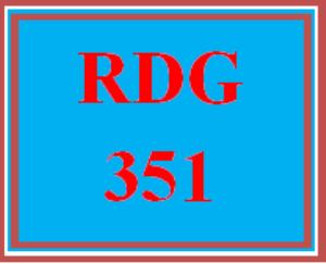 rdg 351 week 3 emergent reading lesson plan