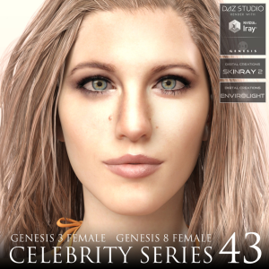 celebrity series 43 for genesis 3 and genesis 8 female