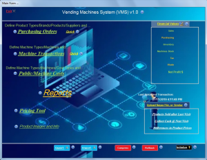 vending machines business management software