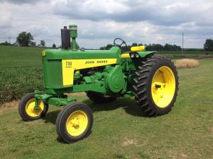 download john deere 730 series tractor operator's manual omr20696