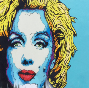 modern marilyn pop art