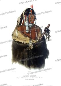ma¨ndeh-pa´hchu,a young mandan indian, karl bodmer, 1839