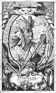 Atahualpa, the last Inca emperor of Peru, Arnoldus Montanus, 1671 | Photos and Images | Travel