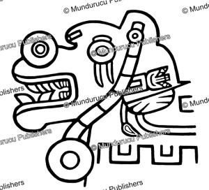 inca design from tiahuanaco (tiwanaku)