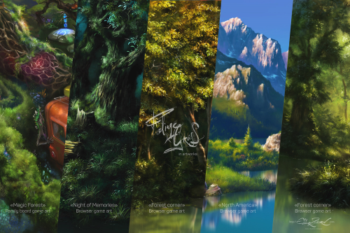 Second Additional product image for - Foliage & Grass, 60 brushes with settings for Adobe Photoshop, Photoshop Elements and Adobe Fresco in ABR and TPL formats