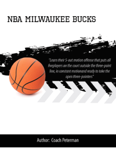 nba milwaukee bucks playbook