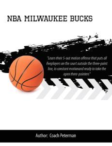 NBA Milwaukee Bucks Playbook | eBooks | Sports