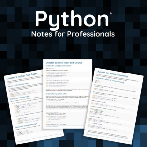 python: notes for professionals