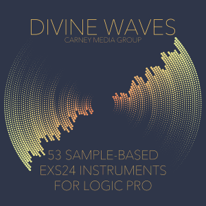 divine waves - 53 exs24 instruments for logic pro x