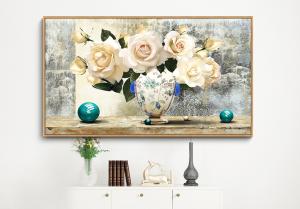 digital floral print 1002