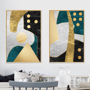 abstract set of 2
