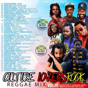 dj roy culture lovers rock mix vol.15 22019