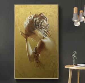 golden girl print