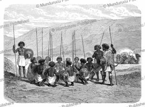 danakil camp, abyssinia, hadamard, 1862