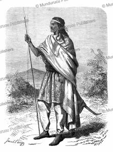emperor tewodros ii (1818-1868) of abyssinia, janet lange, 1864