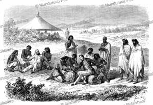 guillaume lejean arrested and put in irons by order of tewodros ii of abyssinia, janet lange, 1864
