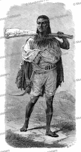 abyssinian fuselier, emile bayard, 1867
