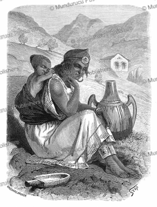 Kabyle Berber woman, Stop, 1867 | Photos and Images | Travel
