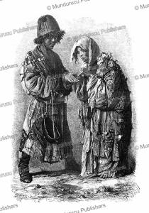 douvana (begging dervishes), sedoff after vasily vereshchagin, 1873
