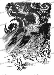 tats-maki, the japanese typhoon dragon, 1866