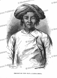 man from yunnan at xiangkhouang in laos, m. delaporte, 1873