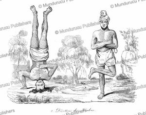 worshipers of hindu, louis auguste de sainson, 1839