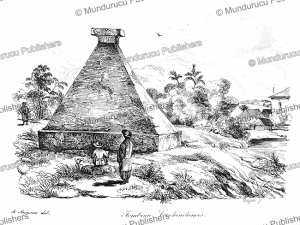 funeral tomb in cochinchina (vietnam) and a deputy of cambodia, louis auguste de sainson, 1839