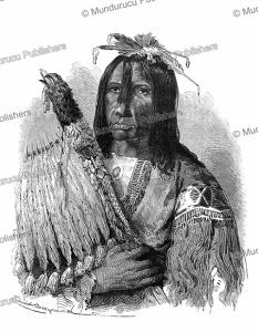 cree chief, emile bayard, 1864
