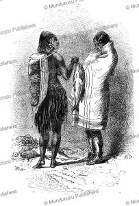flathead indians, alphonse de neuville, 1869