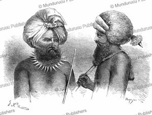 men from fiji, g. fath, 1861