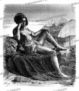 woman of taio-hae, marquesas, a. rixen, 1875
