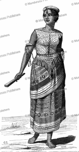 Woman of Rote Island, Timor, Boulanger, 1862 | Photos and Images | Travel