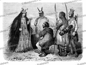 a tungus sorcerer, victor adam, 1861