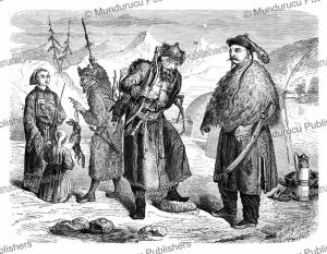 tungus people, valentin timkowski, 1861