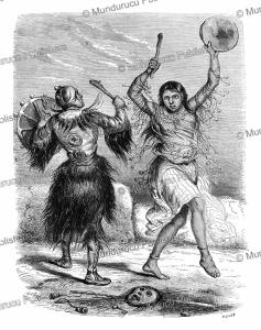 yakut shamans, victor adam, 1861