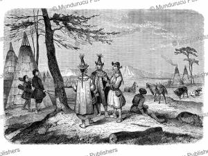 yakut village, victor adam, 1861