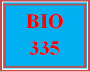 bio 335 entire course