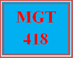 mgt 418 wk 4 discussion - issues for financial managers