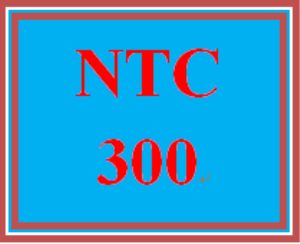 ntc 300 wk 5 discussion - troubleshooting