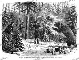 problems when the russian emperor is hunting for bears in 1872