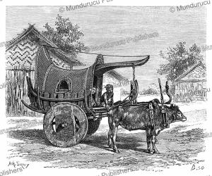 a car of the city barman, madhya pradesh, a. sirouy, 1883